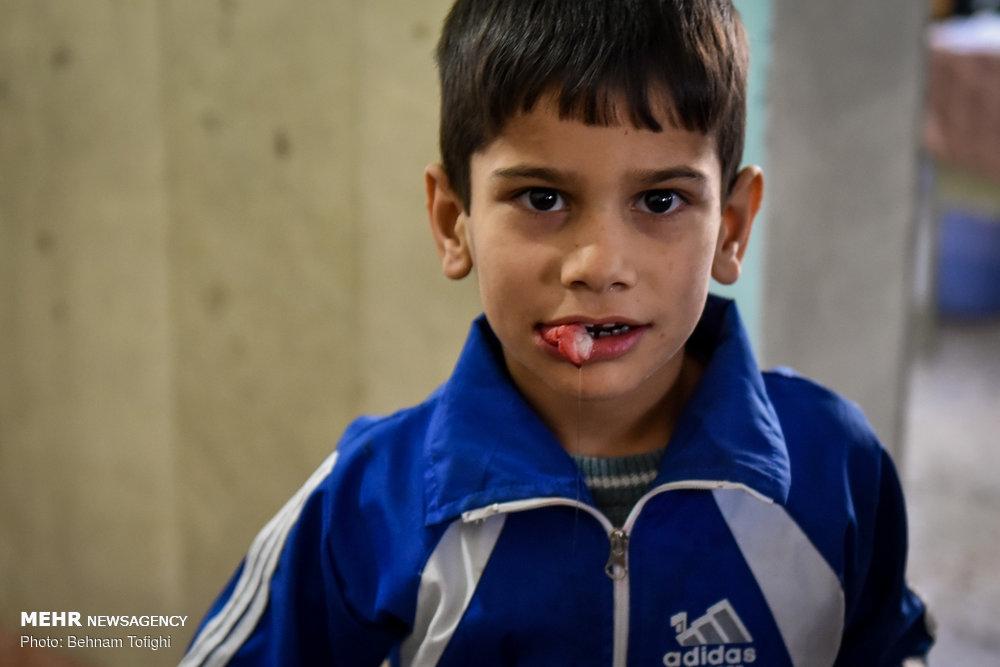 طرح حمایت از سلامت جسمی و روحی کودکان دروازه غار